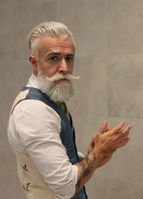 40 year old hipster haircut 40 grey beard styles to look devastatingly handsome