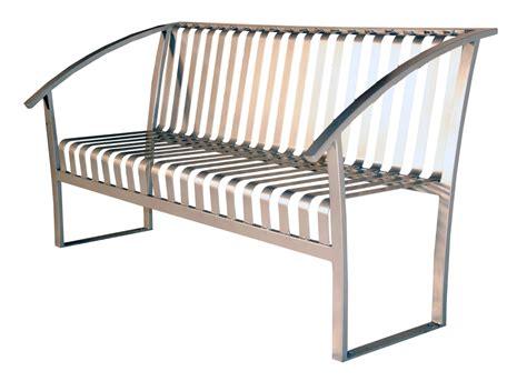 site furnishings benches turisno park bench all metal wishbone site furnishings