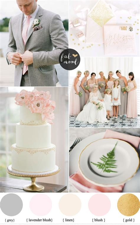 wedding color idea pink and grey white silver oooo now gray and pink wedding colors blush linen gold wedding