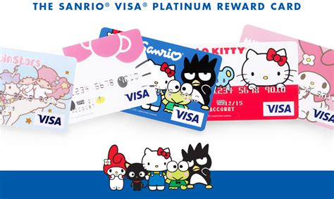 Sanrio Gift Card - sanrio visa reward credit card official home of hello kitty friends sanrio