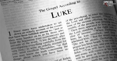 Book Of Luke by Who Wrote The Gospel Of Luke And Acts Crossexamined Org