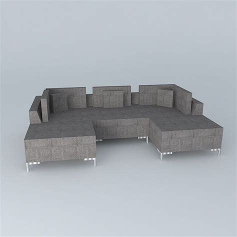 Sofa Israel by Israel Sectional Designed By Percy Ramos Free 3d Model