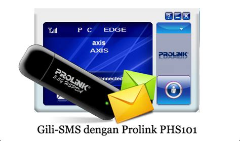 Modem Prolink Phs101 cek pulsa dan ussd pada modem prolink phs101