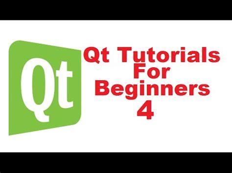 qt tutorial for beginners windows qt designer create application gui graphical user i