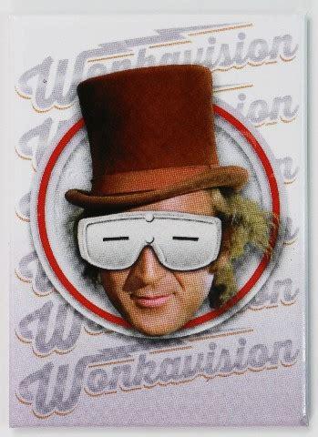 willy wonka wonkavision fridge magnet charlie