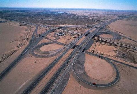 emirates road qatar north highway phase 2 3 construction projects
