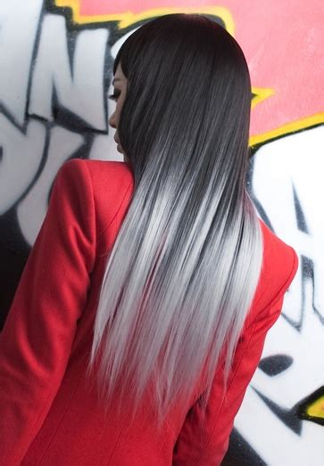 black and white hair color black to white hair colors ideas