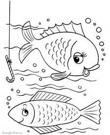 fish coloring book pages 001
