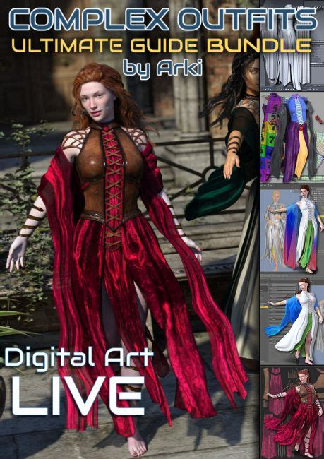 Tutorial Daz 3d Special Series 1 the ultimate guide to creating complex bundle 3d