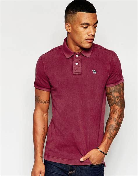Abercrombie Fit by Factory Direct Abercrombie Fitch Polo In Slim Fit