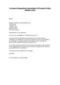 Cancellation Letter Offer To Insurer Requesting Cancellation Of Property Policy Sle Letter Hashdoc