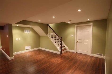 Ideas For Basement Floors Basement Basement Flooring Ideas