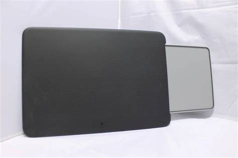 logitech n315 portable lapdesk with retractable mouse pad black 939 000395