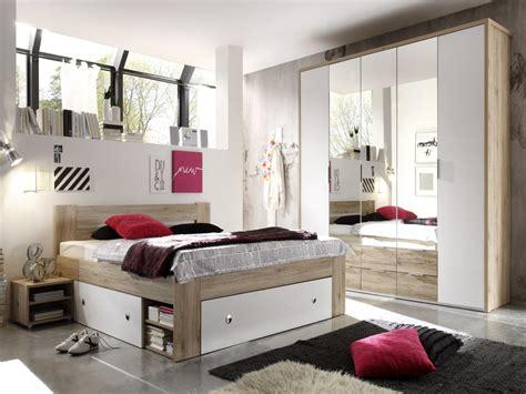 schlafzimmer komplett reduziert conny komplett schlafzimmer eiche san remo weiss 140 x 200 cm