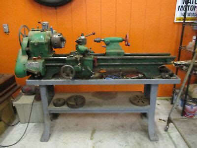 Atlas Metal Lathe With Stand And Extras 1 200 00 Picclick