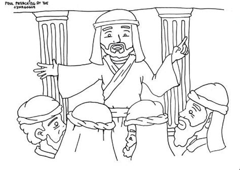 coloring pages jesus preaching 1000 images about jesus teaching in the synagogue on