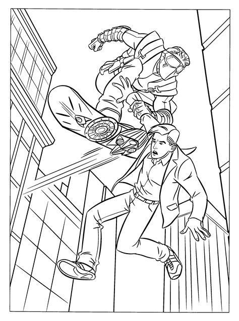 spiderman 3 coloring pages coloringpages1001 com