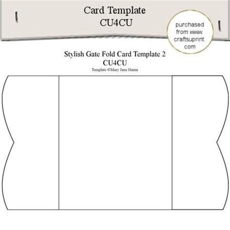 Free Gate Fold Card Template by 1000 Images About Card Templates On Card