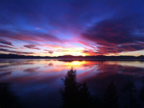 Lake Tahoe Sunset   Tyler Toro Photo