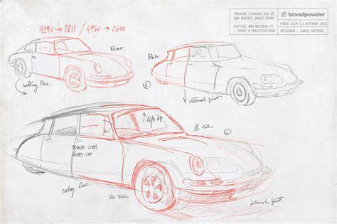 Porsche 911 Sketches by The Car