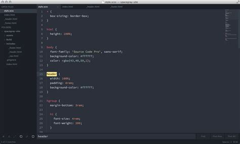 tomorrow theme sublime text 3 spacegray a hyperminimal ui theme for sublime text