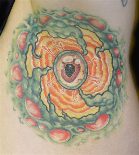 Eyeball Armpit Tattoo | eyeball in armpit tattoo by slipslopslap on deviantart