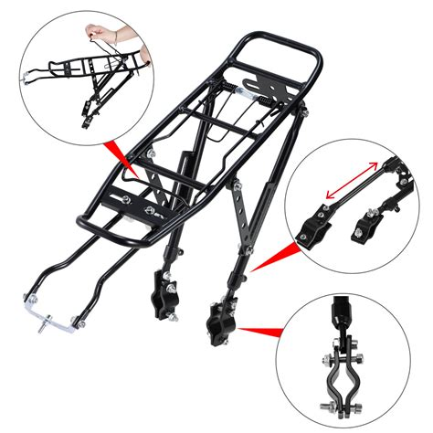 Seat Cl Rack Mount by Bike Bicycle Carrier Rear Rack Luggage Cycling Seat Post