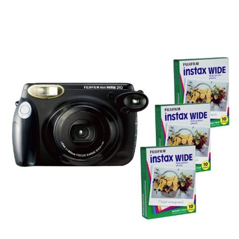 fujifilm instax 210 instant fujifilm instax 210 instant photo kit and 3