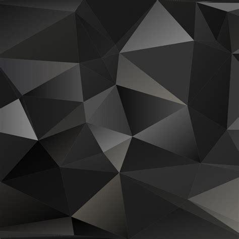 Polygon Premier 3 0 White free vector black polygon vector background 3796 my