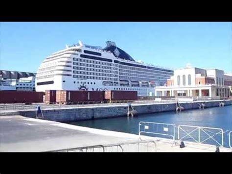 porto di palermo partenze crociere msc orchestra partenza dal porto di palermo