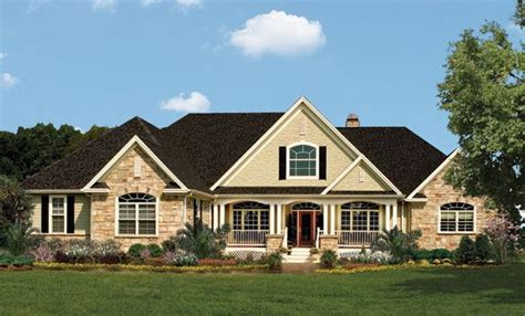 donald gardner house plans one story one story living with craftsman character