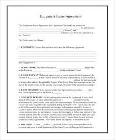Printable Lease Agreement Printable Lease Agreement 9 Examples In Word Pdf
