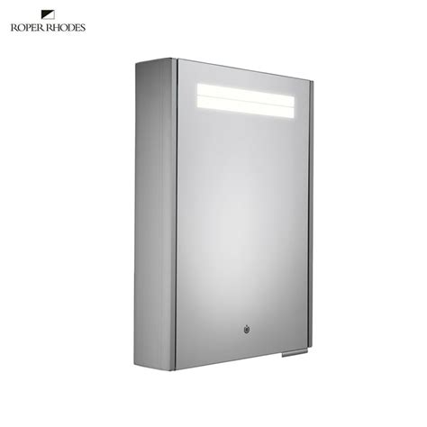 illuminated bathroom cabinets roper rhodes touch illuminated bathroom cabinet uk bathrooms
