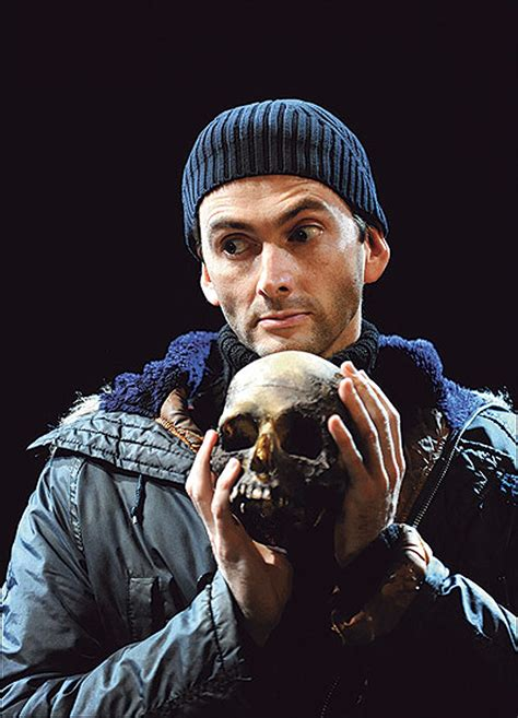 david tennant yorick david tennant uses pianist s skull in hamlet