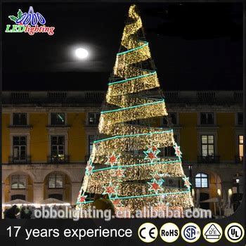 spiral tree outdoor decorations large outdoor waterproof led spiral decoration