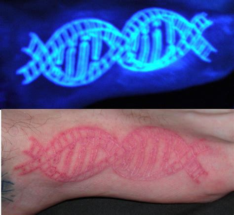 invisible dna tattoo by lucidpetroglyphs666 on deviantart