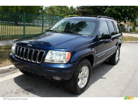 Patriot Blue Pearl 2001 Jeep Grand Cherokee Limited 4x4