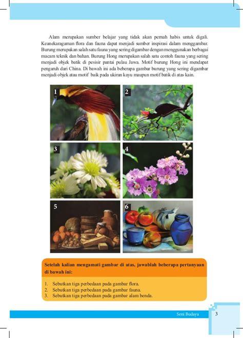 buku siswa seni budaya kelas vii smp kurikulum 2013 contoh batik untuk digambar contoh sur