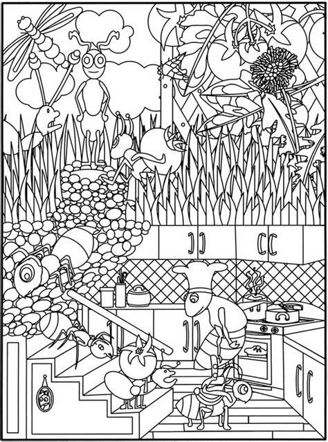 imagenes relajantes infantiles dibujos para colorear de la primavera pequeocio
