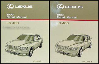 car repair manual download 1999 lexus ls electronic toll collection 1999 lexus ls 400 owners manual original