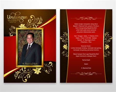 Undangan Ulang Tahun Birthday Invitation Numnoms formal invitation ulang tahun choice image invitation sle and invitation design