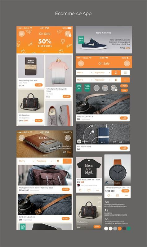 design inspiration mobile website ui inspiration great app web designs