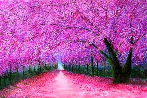 paint nite japanese cherry blossoms cherry blossoms japan fantasia