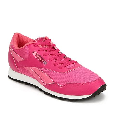 reebok pink walking sports shoes for price in india