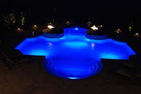 inground pool lights for existing pool inground pool lighting lighting ideas