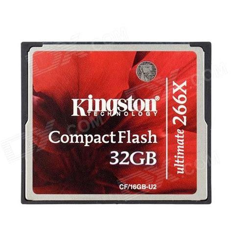 Kingston Compactflash Memory Card Ultimate 266x 45mbs 64gb kingston cf 32gb u2 ultimate compact flash memory card 32gb class 151 266x free