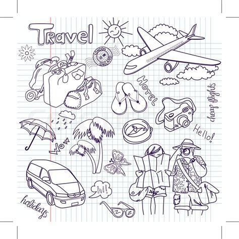 doodles basketball spielen gezeichnet reise doodles vektor illustration stock