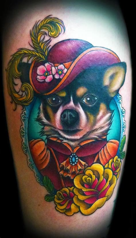 animal portrait tattoo the of the megan ink