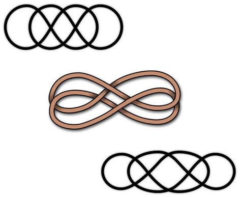 Symbols For Birth Infinity Best 25 Infinity Tattoos Ideas On