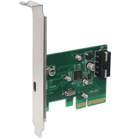 4 1 4 X 5 1 2 Card Template by Desktop Usb 3 1 Type C Port Pci E Controller Card Pci